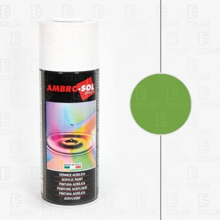 DS Color-OUTLET AMBROSOL-SPRAY AMBROSOL RAL6018 VERDE AMARILLENTO//OUTLET
