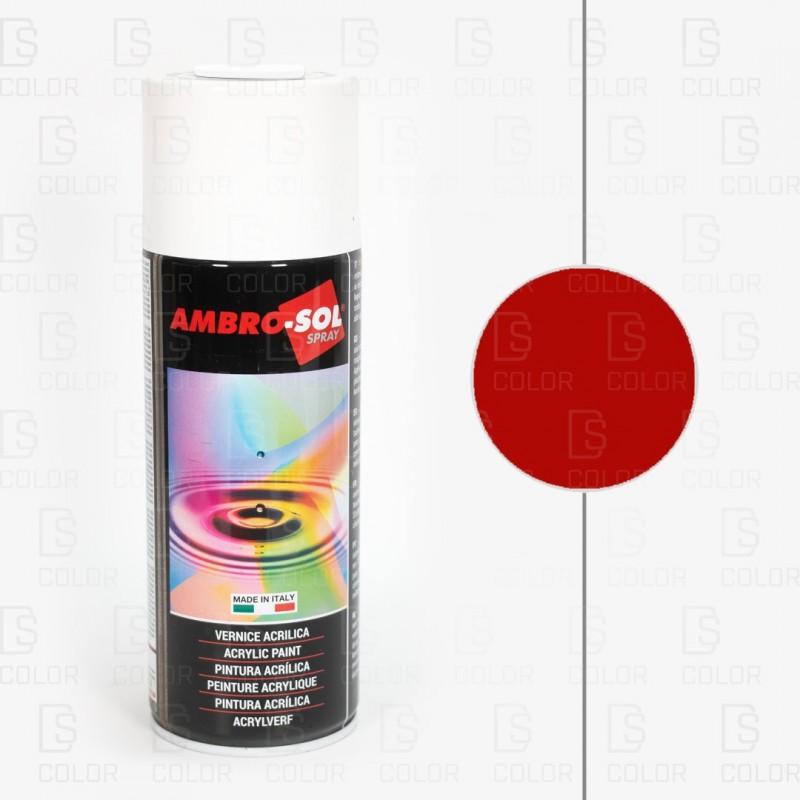 DS Color-AMBROSOL-SPRAY AMBROSOL RAL3020 ROJO TRAFICO