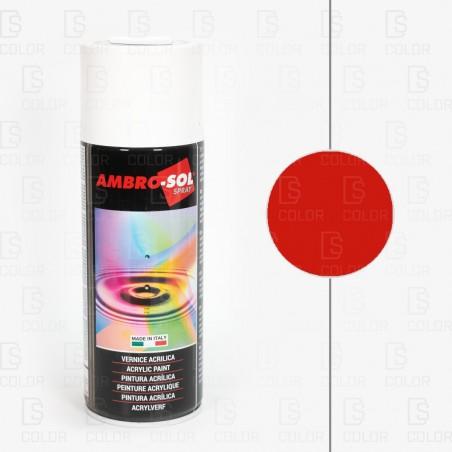 DS Color-AMBROSOL-SPRAY AMBROSOL RAL3000 ROJO FUEGO