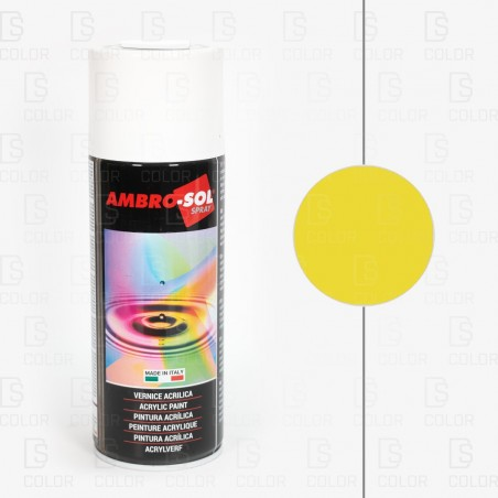 DS Color-AMBROSOL-SPRAY AMBROSOL RAL1021 AMARILLO CADMIO