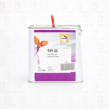 DS Color-OUTLET GLASURIT-GLASURIT CATALIZADOR 929-33 2.5LT//OUTLET