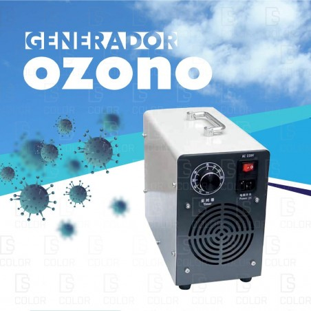DS Color-DS COLOR-GENERADOR DE OZONO 10MG/L