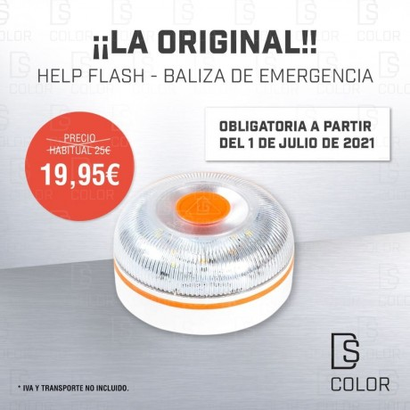 HELP FLASH BALIZA DE EMERGENCIA