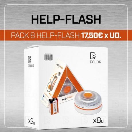 HELP FLASH BALIZA DE EMERGENCIA V16 (CAJA 8UD)