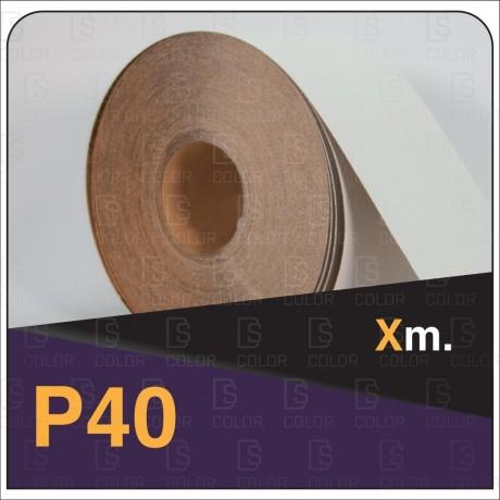 INDASA RHYNALOX WHITE LINE ROLLO 100x50 P40 (M.lin)