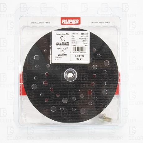 DS Color-RUPES-RUPES PLATO VELCRO SLIM 150 MM REF. 981500