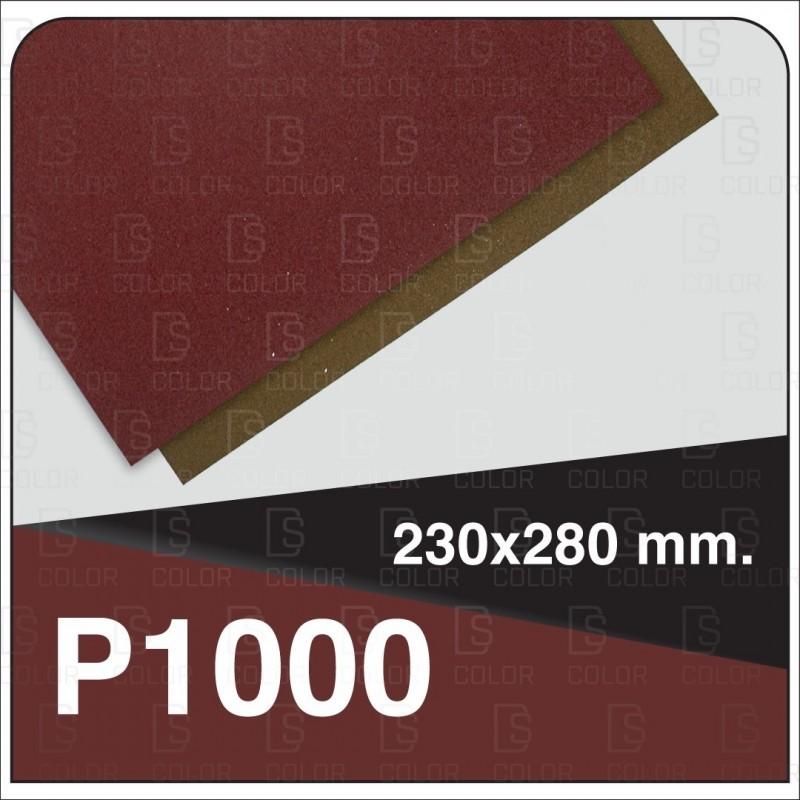 DS Color-INDASA-INDASA RHYNOWET LIJA AGUA HOJA 230x280 P1000 unidad