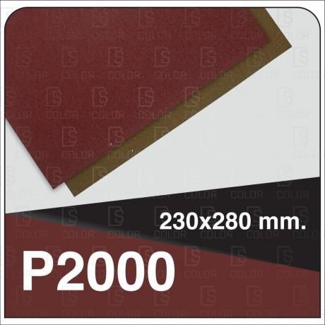 DS Color-INDASA-INDASA RHYNOWET LIJA AGUA HOJA 230x280 P2000 unidad