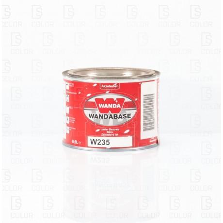 DS Color-OUTLET WANDA-WANDA WB235 NARANJA (ROJO) 0,5LT//OUTLET
