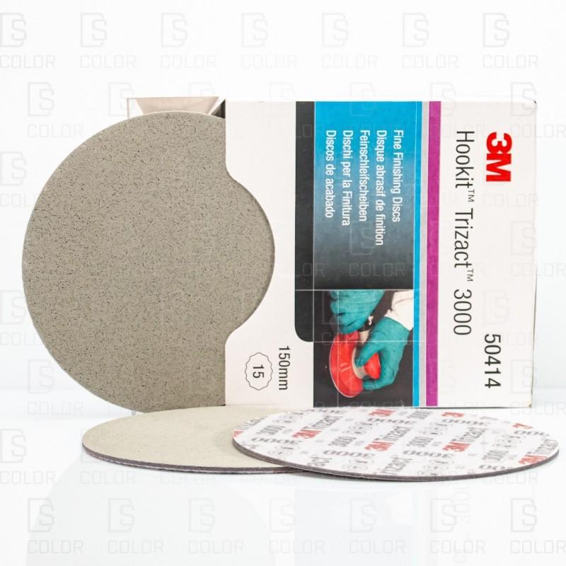 DS Color-ABRASIVOS-3M 50414 DISCO TRIZACT P3000 150mm (unidad)