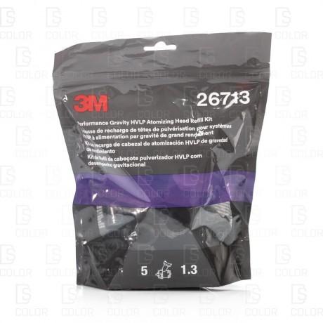 DS Color-3M-3M BOQUILLAS PULVERIZACION HVLP PASO 1.3 (5u)
