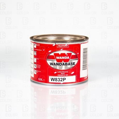 DS Color-OUTLET WANDA-WANDA WB832P ROJO (NARANJA) PERLADO FINO 0,5LT//OUTLET
